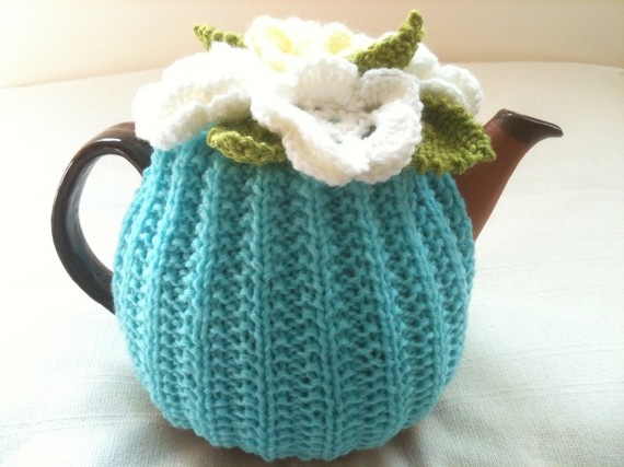 Lily of the Valley  Light Turquoise Aqua Flower by taffertydesigns, $30.00