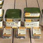 Camo Hidden Fasteners Deck Screws