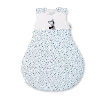 STERNTALER Schlafsack Elvis Punkte blau-weiß #sterntaler #schlafsack #punkte #blauweiss #schlafen #baby #mode