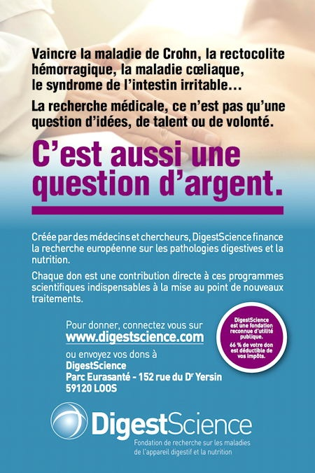 Une campagne de collecte de fonds pour la fondationDigestscience