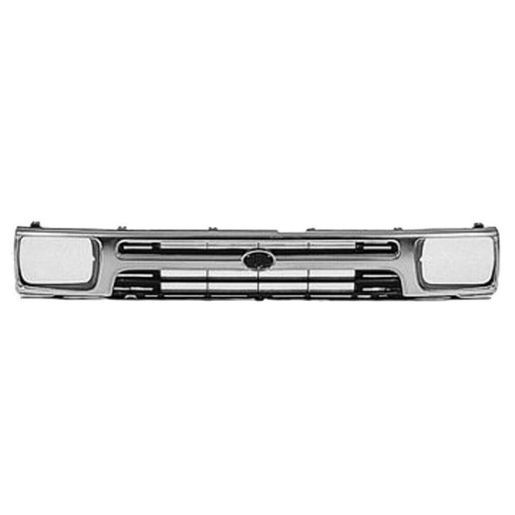 New Grille Chrome Black Front For Toyota Pickup 1992 1995 To1200128 2 Door Keystoneautomotiveoperations Toyota 1997 Toyota Tacoma Grilles