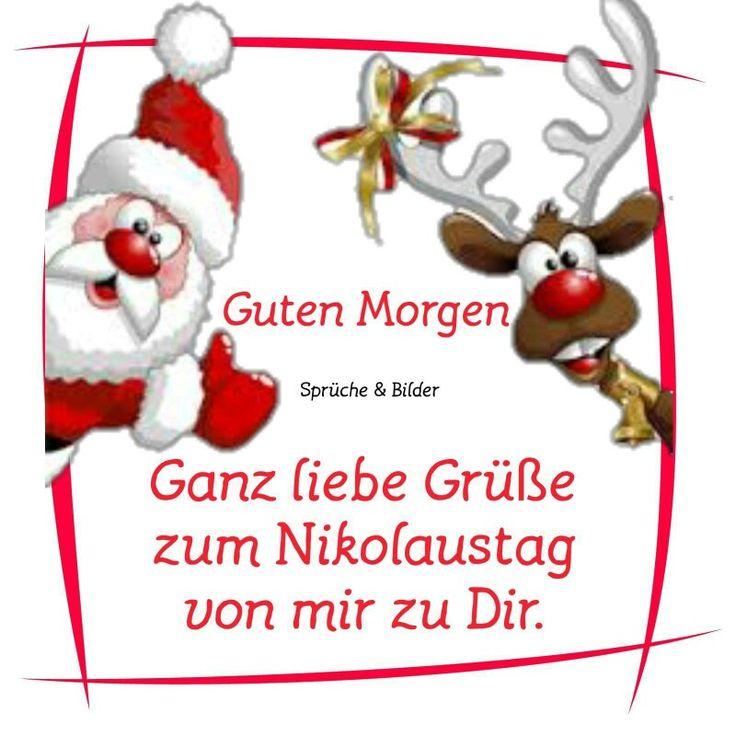 Die besten 25 Nikolausgre Ideen auf Pinterest  Frohe weihnachten gre Weihnachtskarten