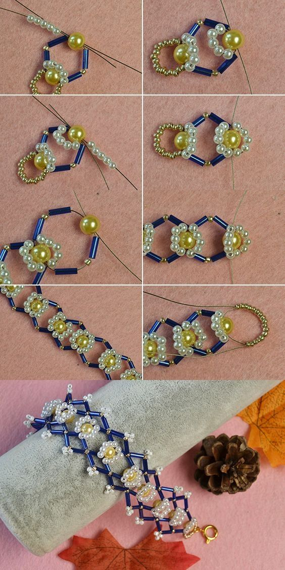 Like the flower beads bracelet with bulge beads?The details will be shared by LC…