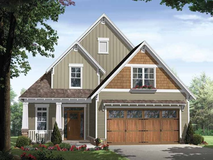 2 Story Craftsman House Plan With 1802 Square Feet And 3 Bedrooms U0026 2 Baths  U0026 Master And Laundry Room Downstairs U0026 Unfinished Bonus Room Upstairs From  Dream ...