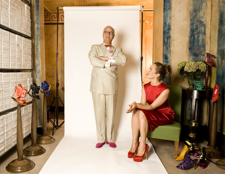 Manolo Blahnik, Charlotte Olympia. Photo by Rebecca Miller