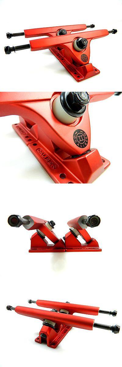 Trucks 165945: Caliber Ii 10 Inch 50 Degree Satin Red Longboard Trucks Set Of 2 -> BUY IT NOW ONLY: $42.99 on eBay!