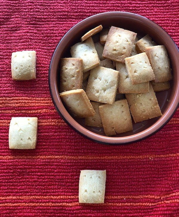 Best Easy 2 Ingredient Parmesan Cheese Crackers Recipe Food