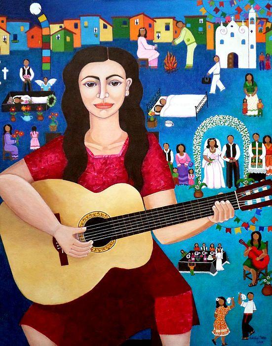 Violeta Parra and the Song Black Wedding II by Madalena Loboa-Tello