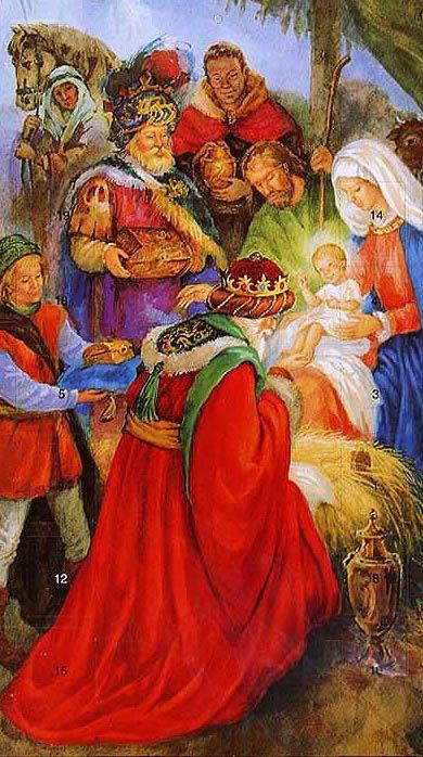 PESEBRE DE LA NAVIDAD....❤. Los tres Reyes Magos