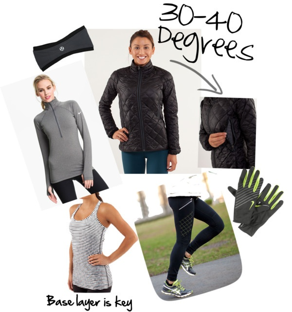 what to wear for half marathon in 40 degrees