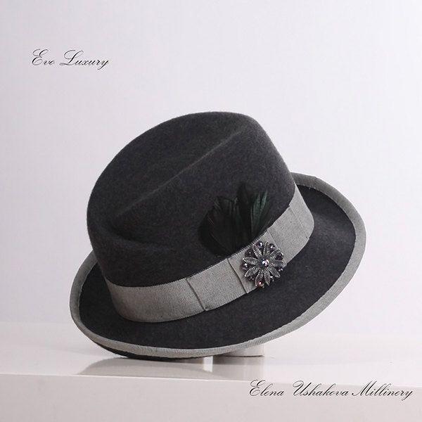 Женщину в шляпе невозможно забыть - Софи Лорен. by HatCapVeil on Etsy