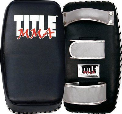 Strike Pads and Mitts 179789: Title Mma Contoured Thai Pad - Pair BUY IT NOW ONLY: $124.61