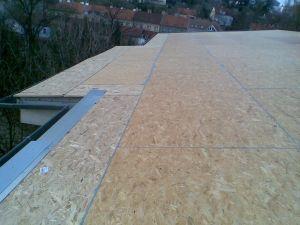 Rekonstrukce ploché střechy #strechy