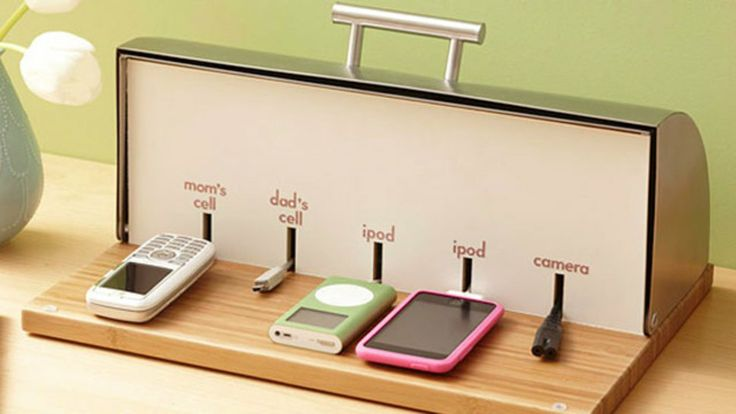 Convert a Bread Box into a Charging Station