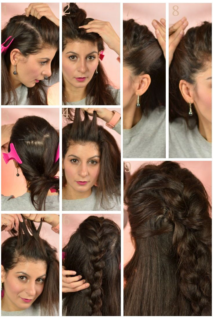 Winter hairstyles: Everyday hairstyle for busy women - No ...