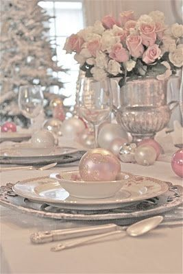 31 Best Shabby Chic Table Settings Images On Pinterest
