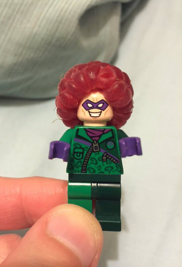 """Raspberries make great Lego Afros "" -Reddit"