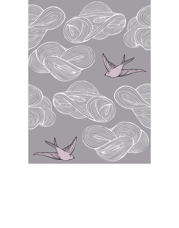Daydream (Lavender) Tiles from Hygge, ULIA ROTHMAN  DAYDREAM (LAVENDER) TILES