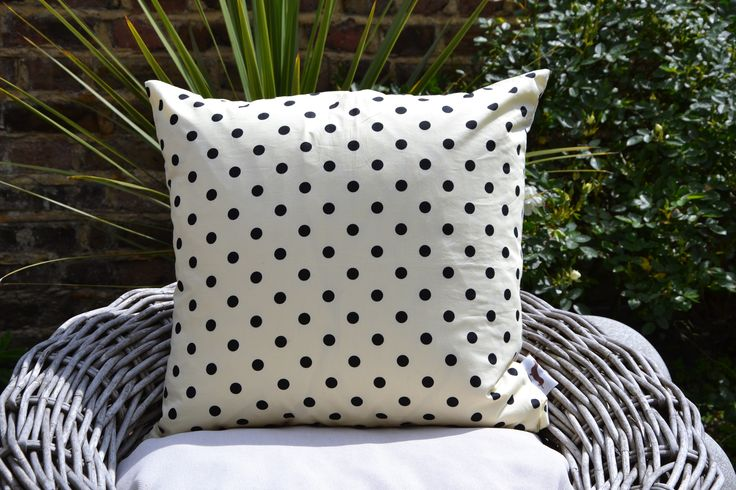 Cream Polka Dot Cushion Cover £22.00