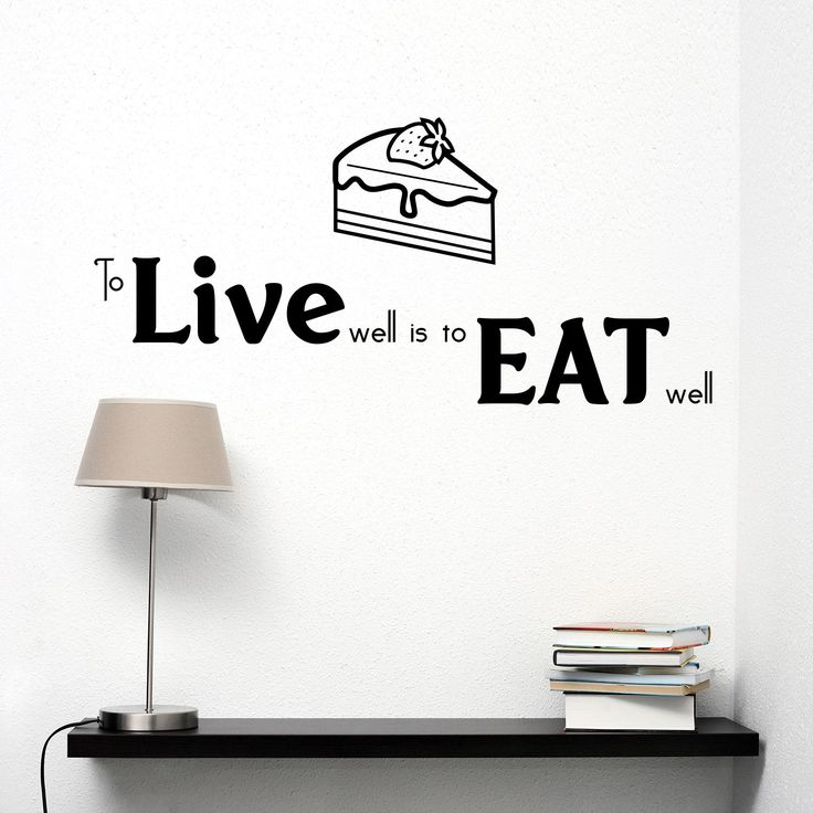 Adesivi da parete Eat well Live well Wall Sticker https://www.adesiviamo.it/prodotto/1201/Adesivi-da-parete/Adesivi-da-parete/Eat-well-Live-well-Wall-Sticker-Adesivo-da-Parete.html