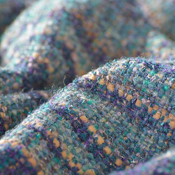 Hand-Woven Wool Fabric from Original fabrics & yarns by DaWanda.com