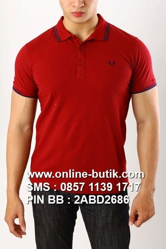 POLO SHIRT FRED PERRY PREMIUM | Kode : PSP FRED PERRY 6 | Rp. 220,000