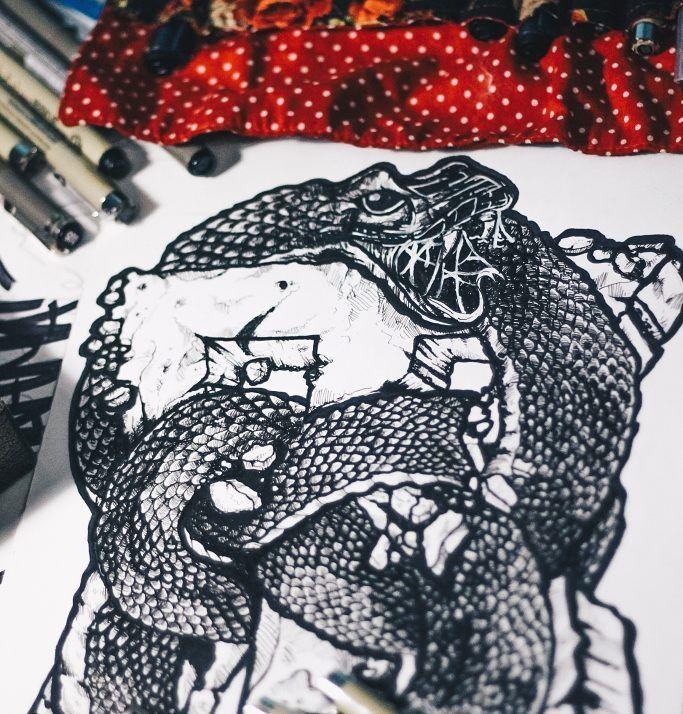Old work #art #drawing #illustration #gajahnakaldesign by gajahnakal mail me on doaibv@gmail.com
