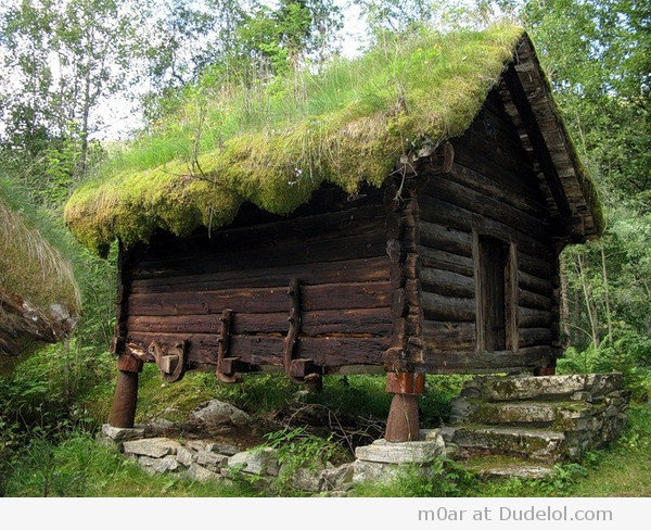 Norwegian Stabur -- Where foods were kept. That's a whole subject. What the Culture could 'keep' through the winters.