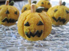 「[ハロウィン]かぼちゃ茶巾」ひろりんokan   お菓子・パンのレシピや作り方【corecle*コレクル】