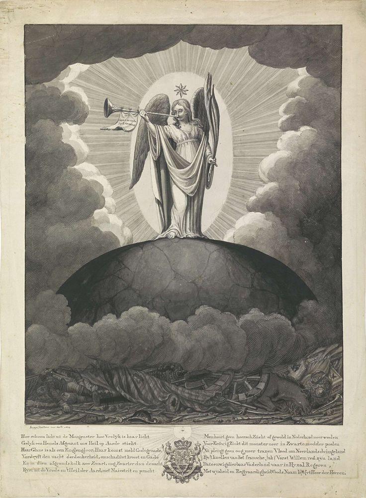 Gedicht 'Hoe schoon licht ons de morgenster', George Kockers, 1814