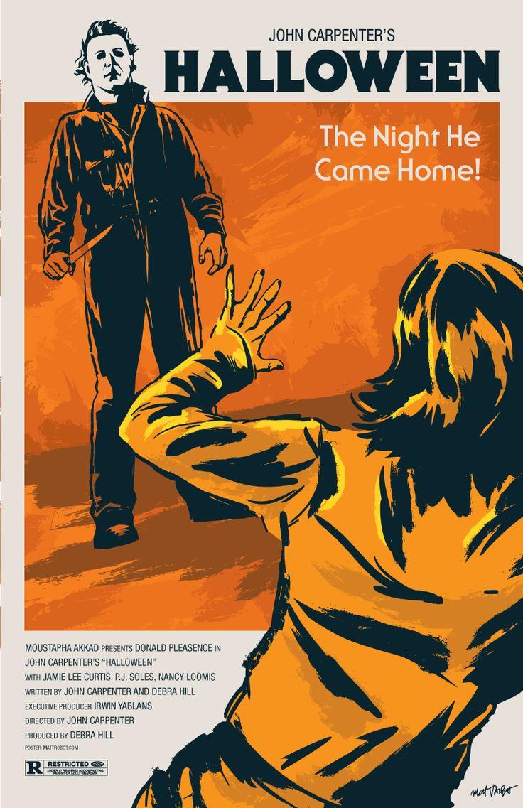 John Carpenter's Halloween poster by Matt Talbot