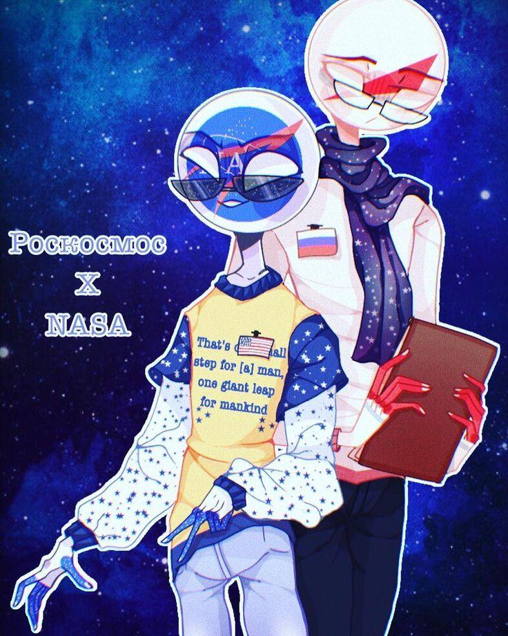 #countryhumans #country_humans #NASA #Roscosmos #Russia # ...