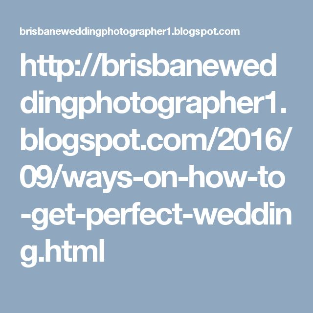 Ways n how to get perfect #Wedding photos.