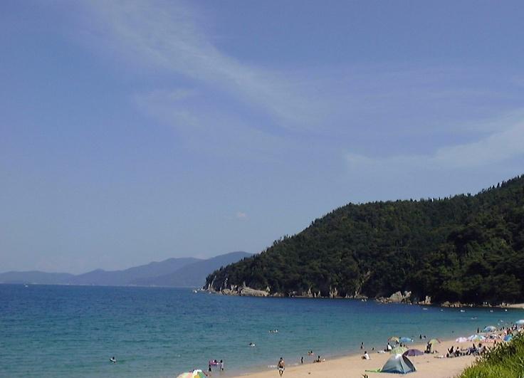 田井海岸は天橋立宮津ロイヤルホテルより徒歩約10分です。