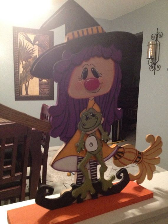 Witch Wendy by Gourdsandgifts on Etsy, $25.00