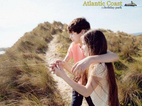 Atlantic Coast - Next To Sand Dunes