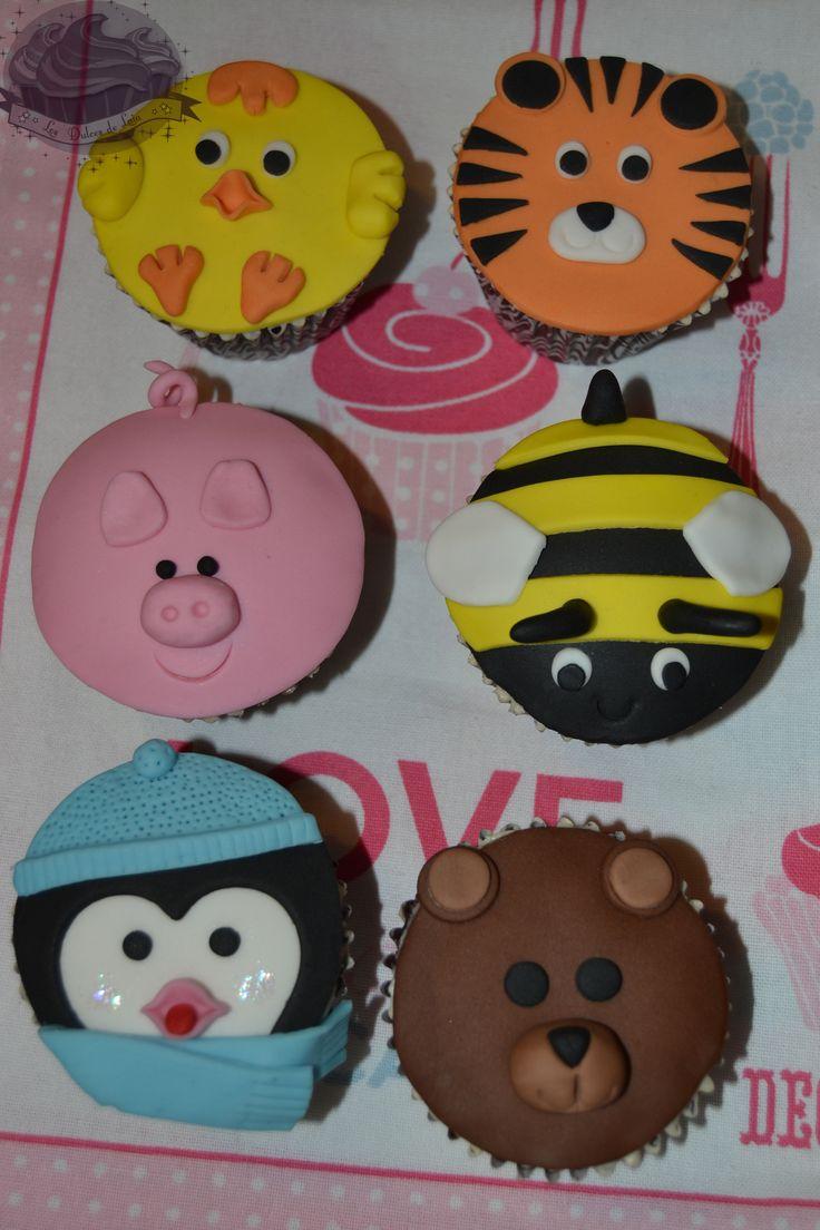 Cupcakes animalitos!