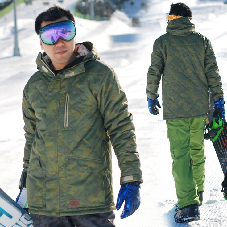 111.92$  Buy here - http://ali5xs.worldwells.pw/go.php?t=32270664952 - 2016 wither snowboard jacket men ski jacket thermal skiing and snowboarding coat snow suit chaquetas ropa de esqui hombre