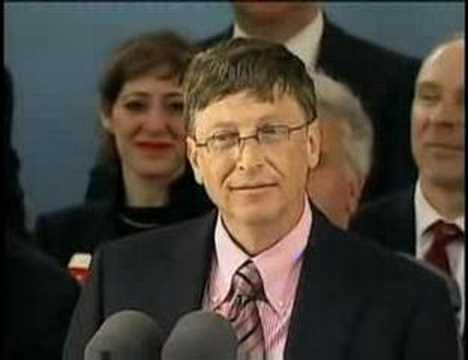▶ Bill Gates Speech at Harvard (part 1) - YouTubesee  re  on side
