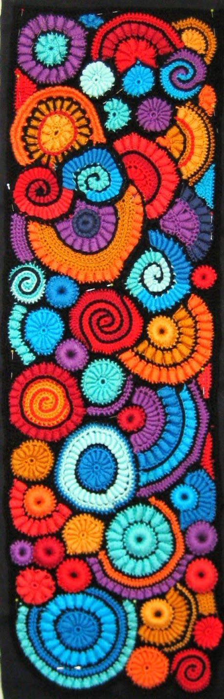 free style crochet, 'schilderen met de haaknaald'