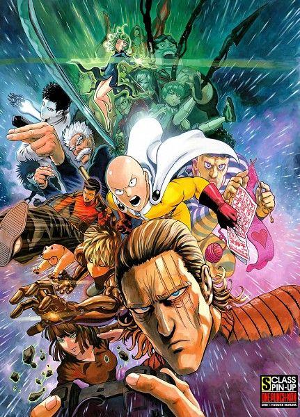 Tags: Anime, One Punch-Man, Dissidia, Bang (Onepunch-man), Saitama, Doutei, King (Onepunch-man)