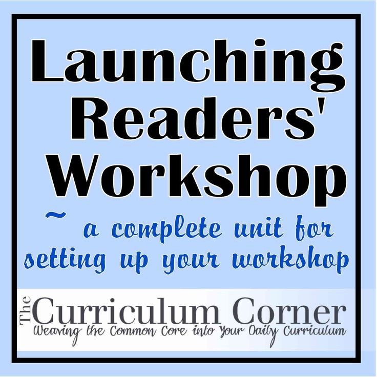 Complete launching unit for readers' workshop.  Includes mini-lessons and suggested read alouds.