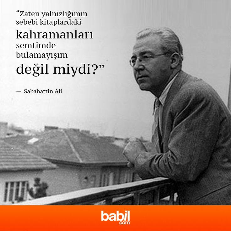 #sabahattinali #alinti