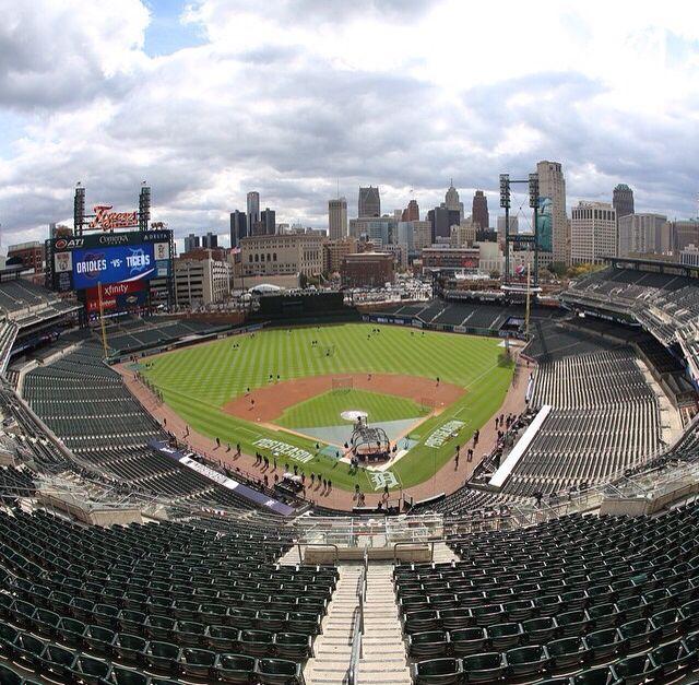 Comerica Park Detroit Michigan: 17 Best Images About Detroit Tigers On Pinterest