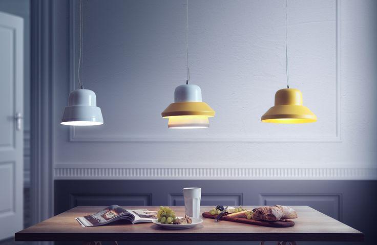 Seria lamp Prima - Prima Mini, Maxi & Duo, projekt: Alicja Pałys. Fot. musthave.lodzdesign.com #lampy #projektanci #polscy #lampa #żyrandol #pomysł #jadalnia #kuchnia #salon #oświetlenie #światło #wystrój #ideas #home #decor #light