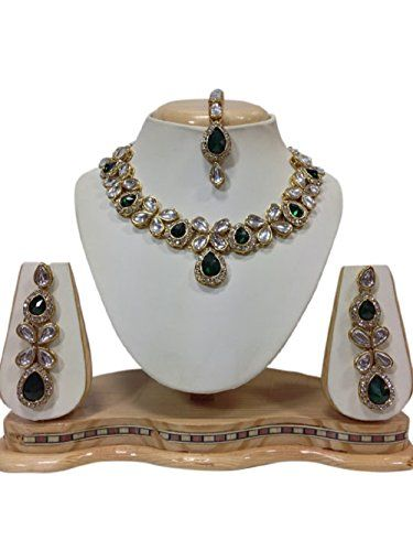 Indian Bollywood Green Stone Cz Kundan Party Wear Women J... https://www.amazon.com/dp/B01MR7OFSE/ref=cm_sw_r_pi_dp_x_vyfIyb9XY6QV6