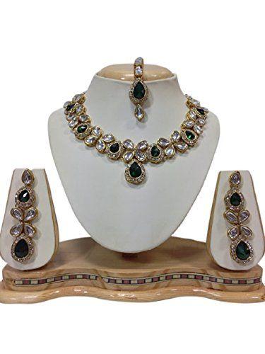 Ddivaa Indian Bollywood Green Stone Cz Kundan Party Wear ... https://www.amazon.com/dp/B01MR7OFSE/ref=cm_sw_r_pi_dp_x_CJumzb5C9MMRM