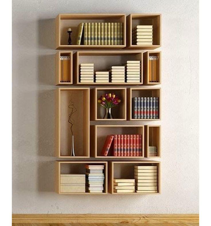 Arranjadas em formato de estante, estas peças podem substituir um móvel e…