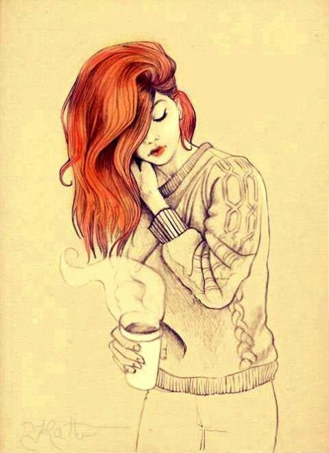 Red Hair   Hu00e5r   Pinterest   Coffee Cup Cups And Coffee