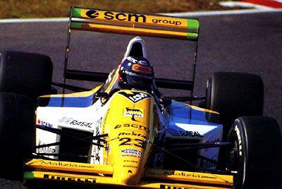 Paolo Barilla - 1989 - Japan GP - Minardi 189